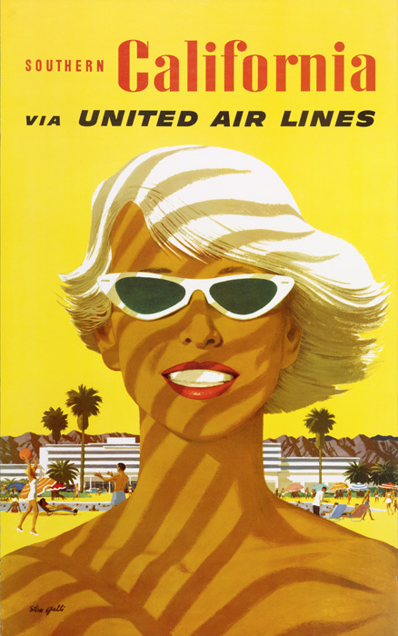United Air Lines poster collection