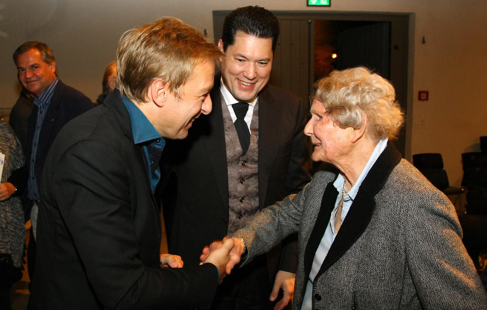 Max Müller, Ingo Dannhorn und Mechthild Frfr. von Künßberg (geb. Kempff)