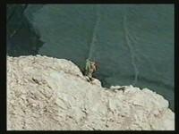 Zeitweise 400m Rückenfreiheit bei freier Kletterei