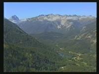 Ausblick auf die Ötztaler Alpen