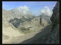 Ost-Aussicht über Brendl-Kar ins Zentrum der Mieminger Berge