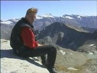 Sebastian mit Großglockner-Panorama