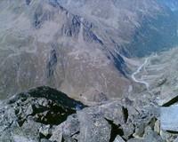 Luftige, ausgesetzte aber anregende Kletterei