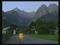 Wettersteingebirge im Morgengrauen