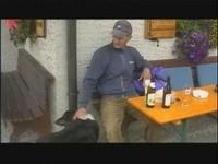 Verdientes Radler und Bier