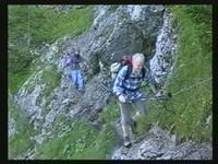Gefährlicher Abstieg ins Tal