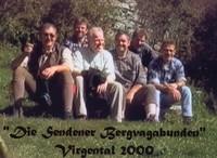 Gruppenbild an der Ruine Rabenstein