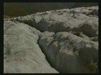 Vorsicht Gletscherspalten