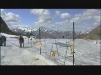 Blick auf die Ötztaler Gletscherwelt