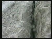 Lauernde Gefahr Gletscherspalten