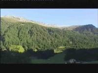 Terassenblick auf Arweswände, Roter Kogel undLüsener Villerspitze