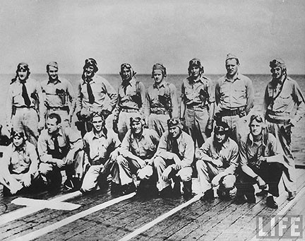 THE PILOTS IN MAY, 1942