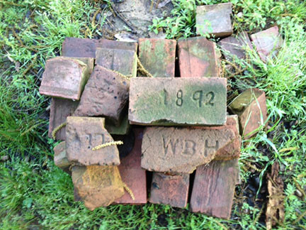 A FEW OF THE OLD BRICKS REMAINING