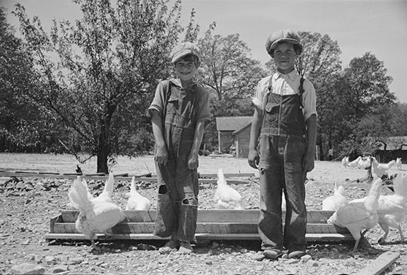 Ready to face the world.  Farm Security Administration Photo
