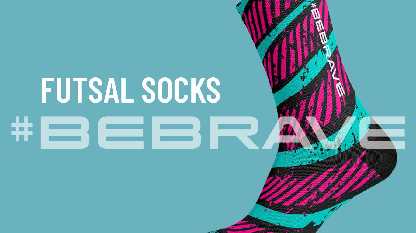 Futsal Socks #BEBRAVE