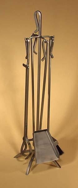 Jeu outils A-1 acier brossé métal 3/8 carré