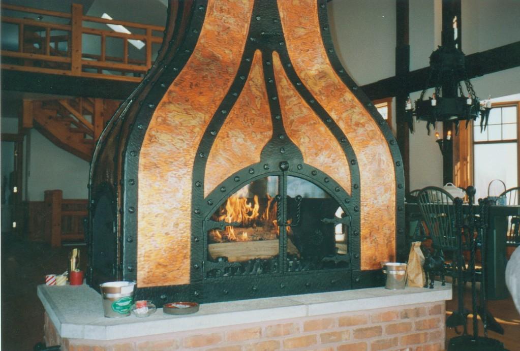 Vue de la porte principale