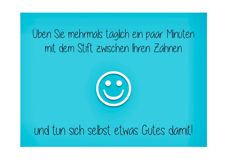 Text und Smiley