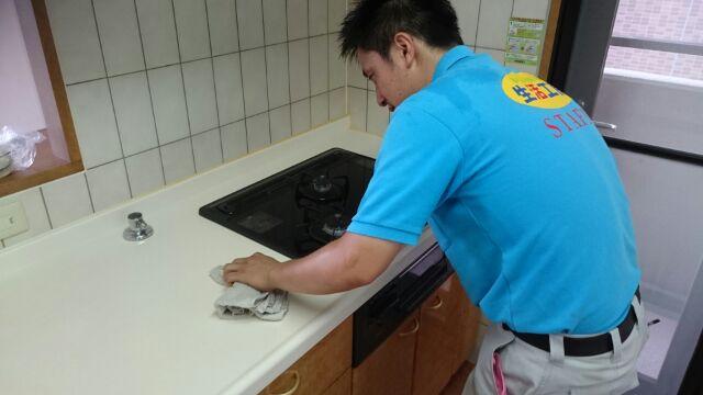 キッチンクリーニング(中)