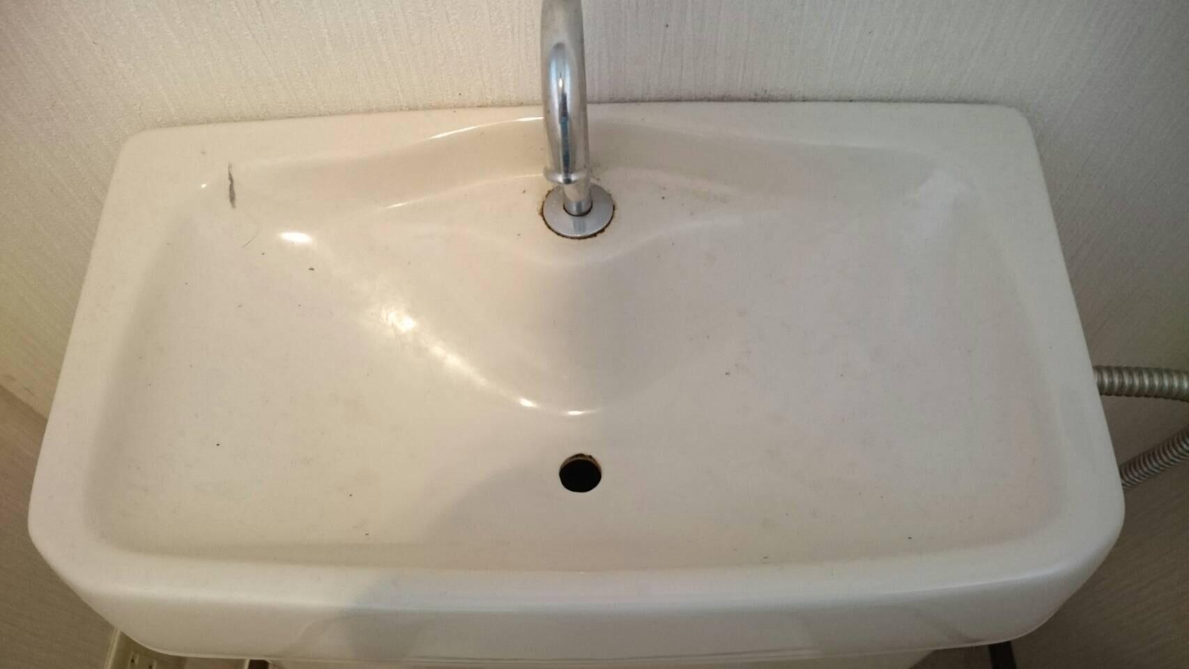 手洗管清掃・ロータンクフタ清掃