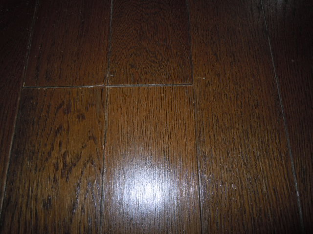 床の凸凹修理