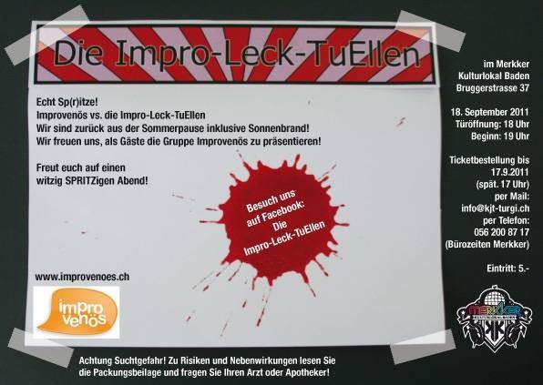 18.9.2011: Echt Sp(r)itze!