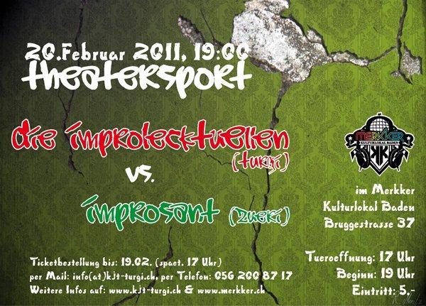 20.2.2011: Theatersport mit improsant