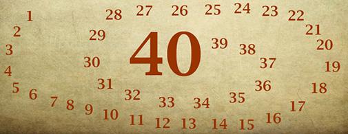 Se défaire de 40 objets en 40 jours