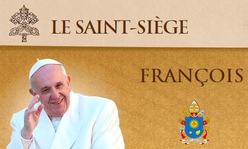 Le saint-siège - Pape François