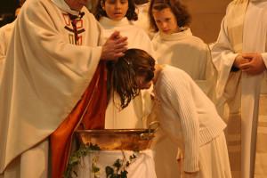 batistère et baptême
