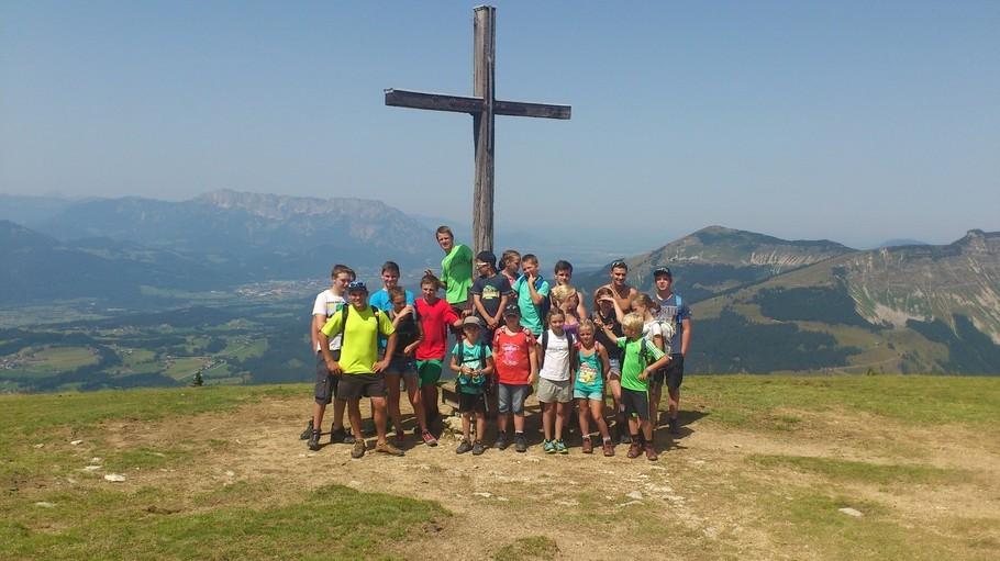 Ausflug der Kinder- und Jugendgruppe zur Wimmer-Alm