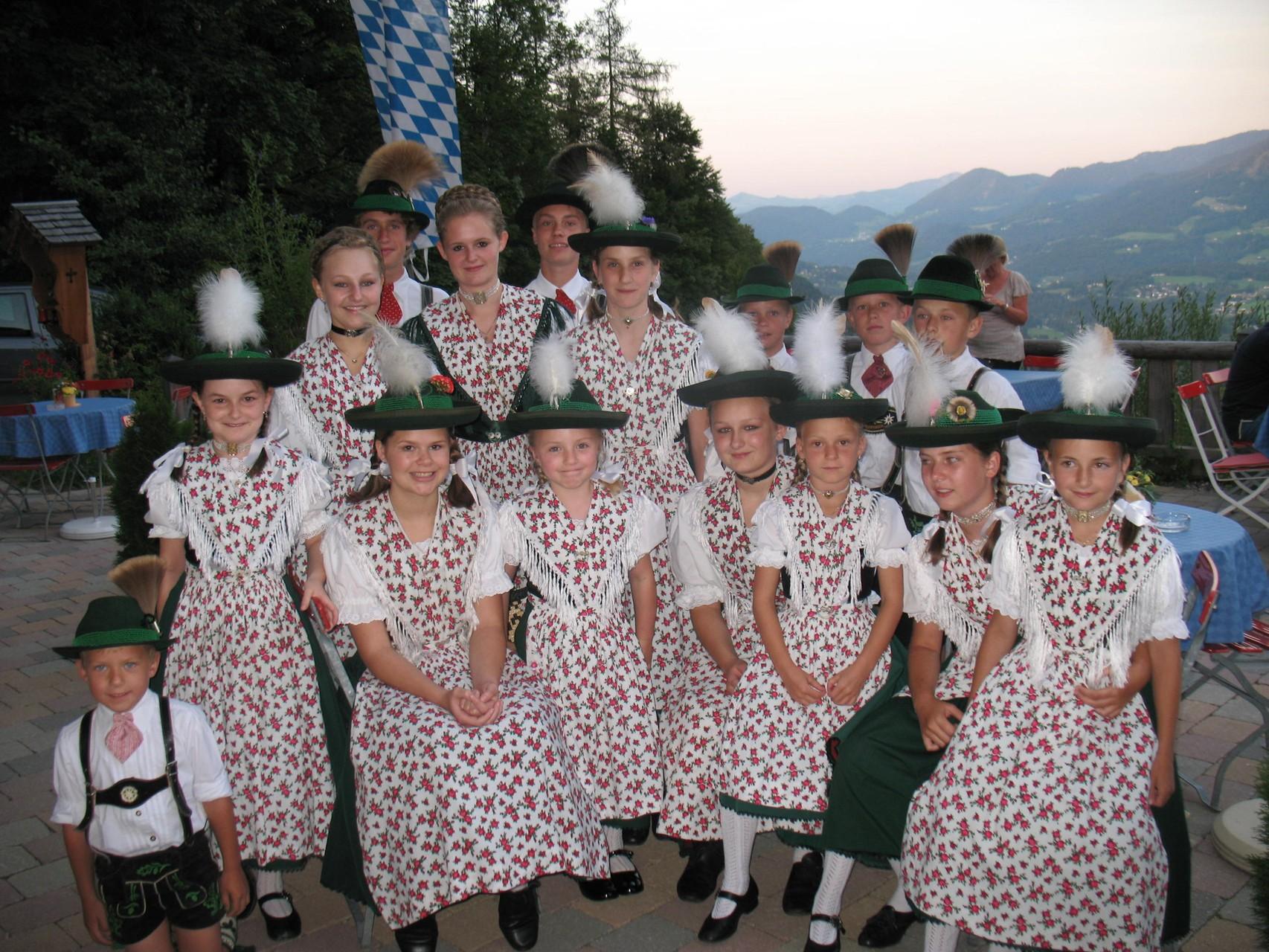 Kinder- und Jugendgruppe 2009