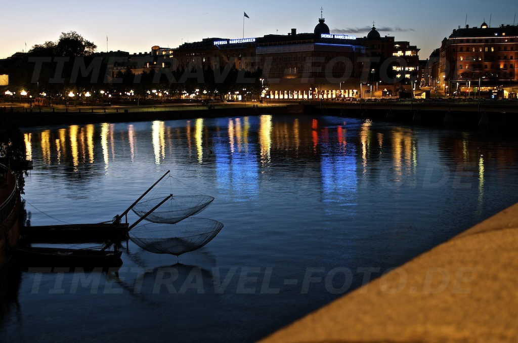 Stockholmnacht. Stockholm, Schweden. Foto: E. Knipschild