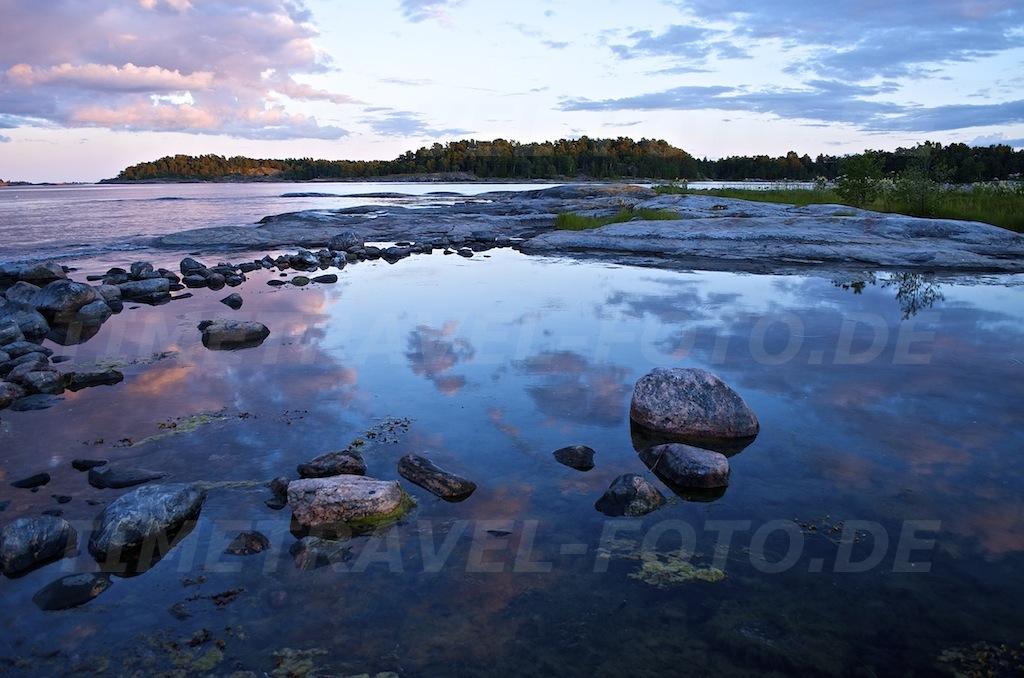 Lagune. Korsudden, Schweden. Foto: E. Knipschild