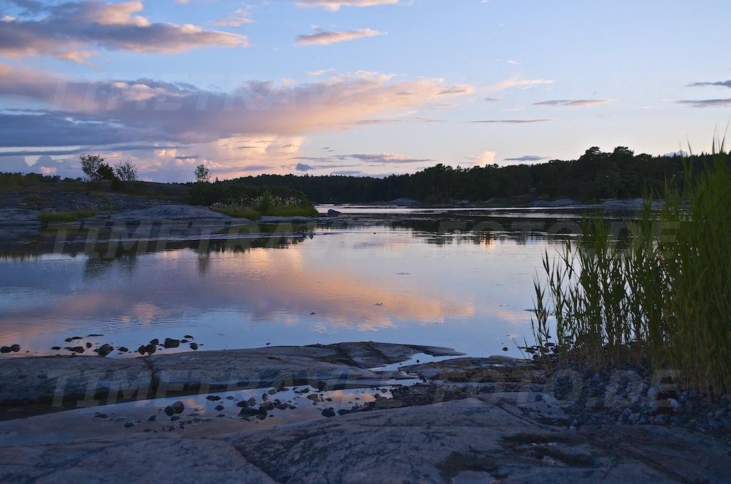 Spiegelung. Korsudden, Schweden. Foto: E. Knipschild