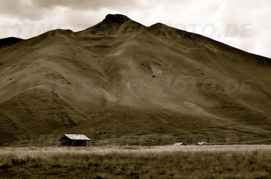 Einsame Hütten. Foto: Esther Knipschild