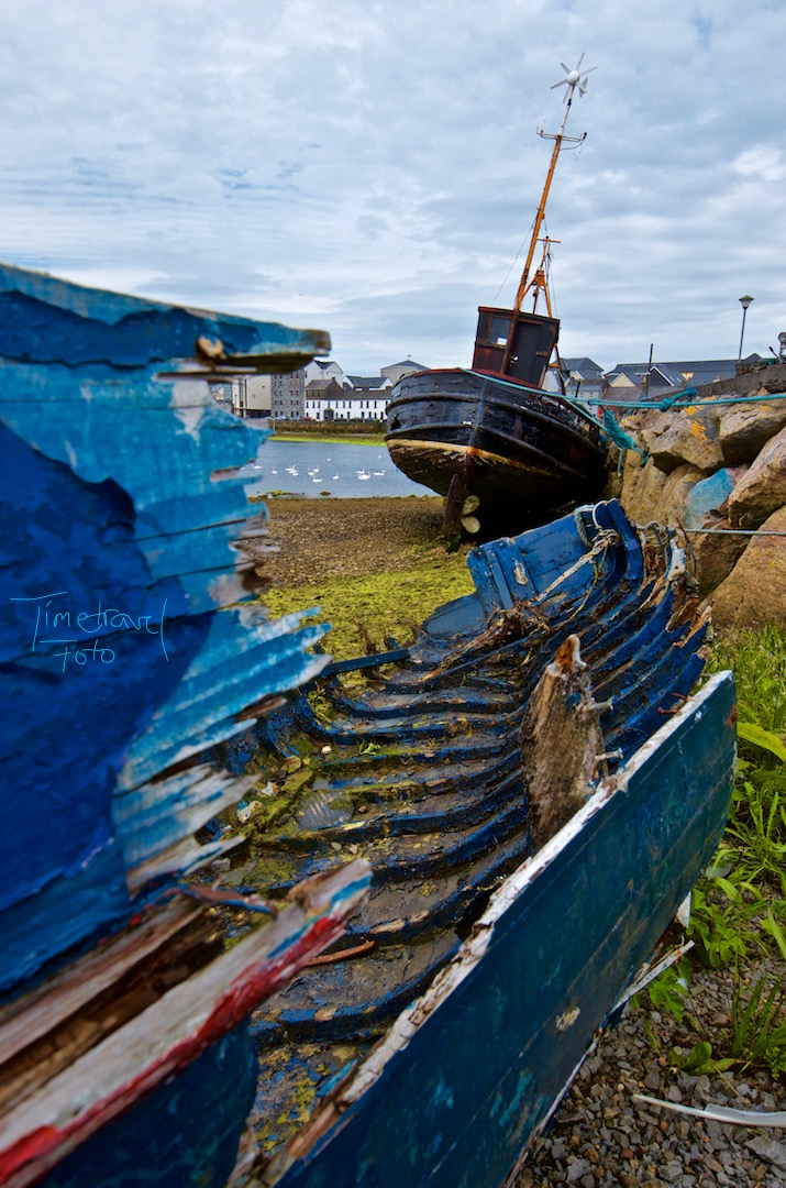 Wrecked. Claddagh Quay, Galway. Foto: Esther Knipschild