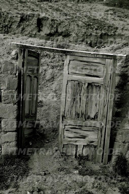 Tür ohne Haus. Foto: Esther Knipschild