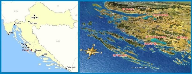 DRAGE: Landkarten