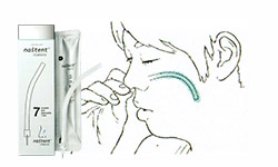 鼻腔挿入チューブ(ナステント)治療のイメージ画像
