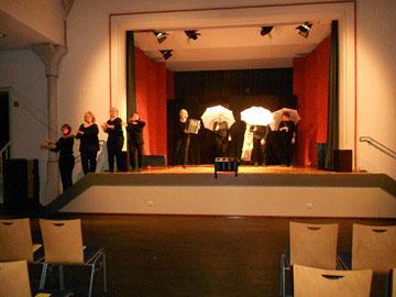 Auftritt Theatergruppe Mummpizze