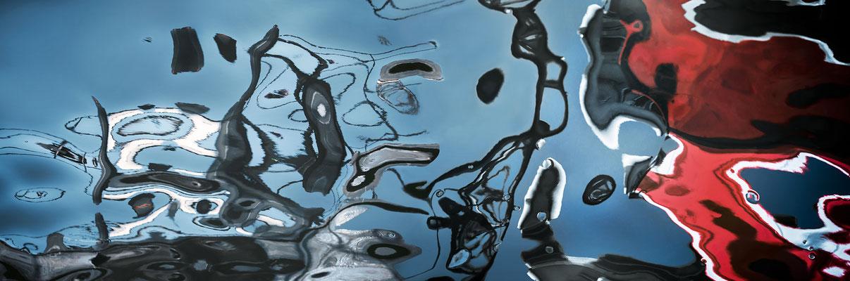 Hamburger Unterwelten VIII  ·  210 x 70 cm  ·  Preis auf Anfrage  ·  © Karena Kanamüller