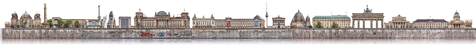 Berliner Mauer 4  ·   Format und Preis auf Anfrage © Stefan Korff