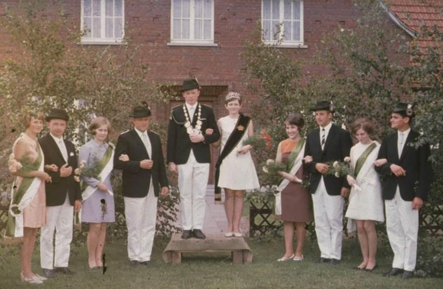 1967: König Bernhard Lackhove und Königin Annette Große Hartmann