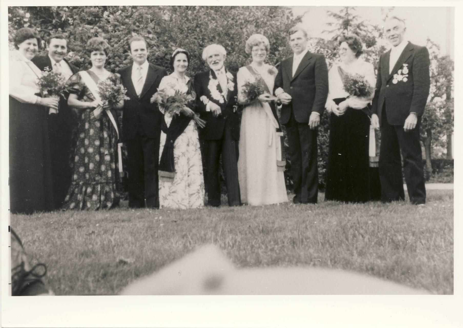 1979: König Matthias Quaedvlieg und Königin Anni Quaedvlieg