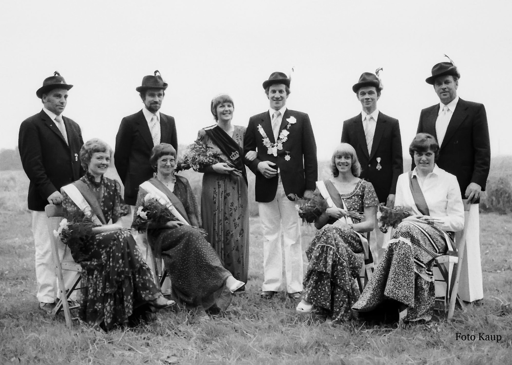 1980: König Alfons Hagemeyer und Königin Gabi Hagemeyer