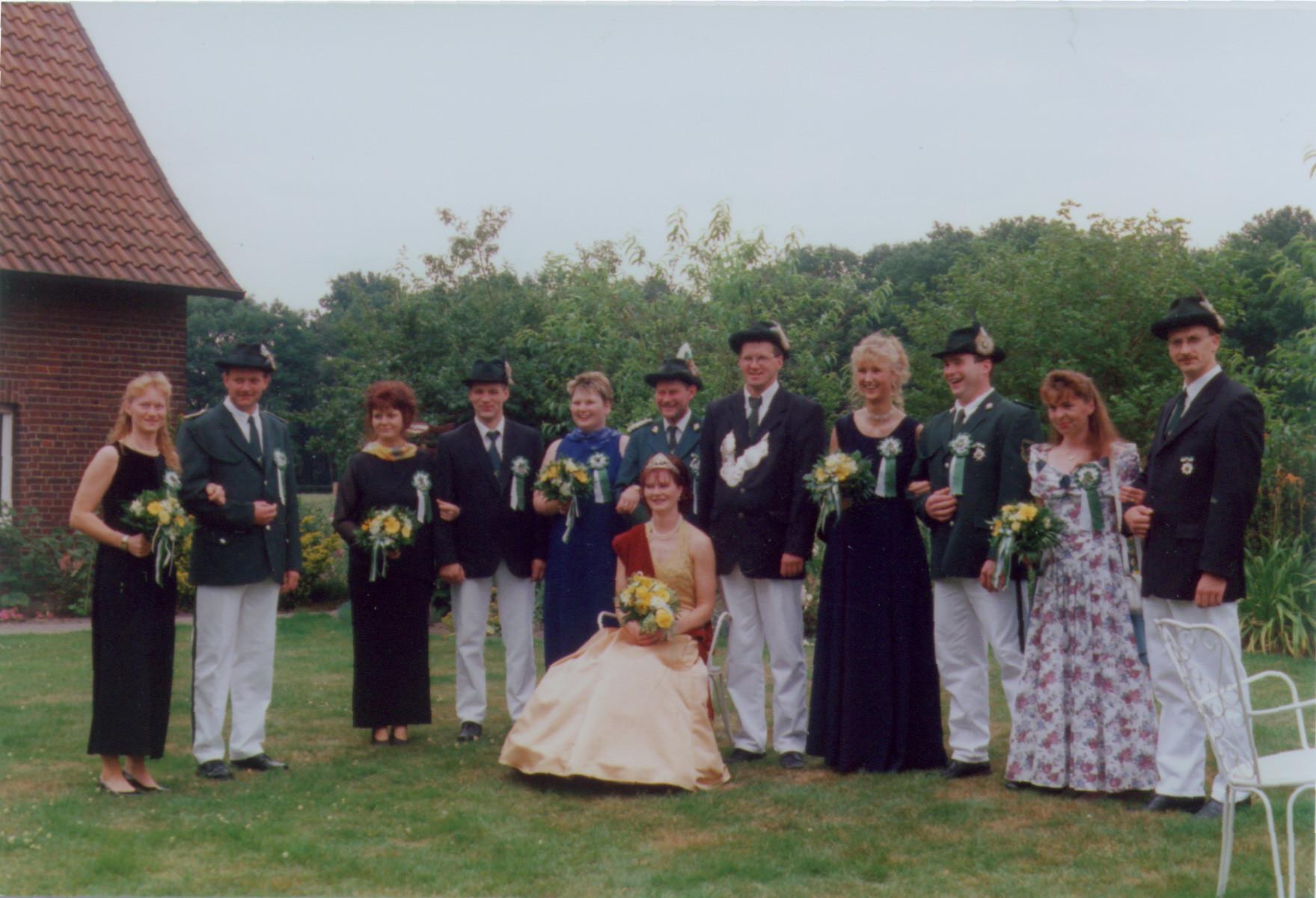 1998: König Hubert Isernhinke und Königin Hedwig Isernhinke