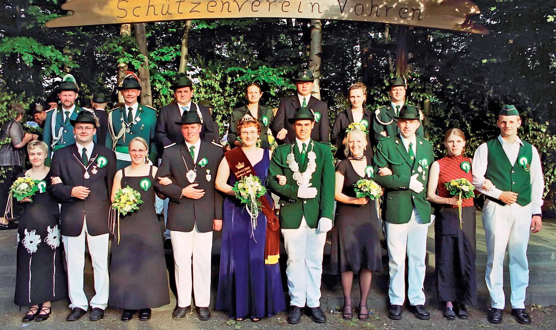 2002: König Stefan Haverkamp und Königin Sandra Junker