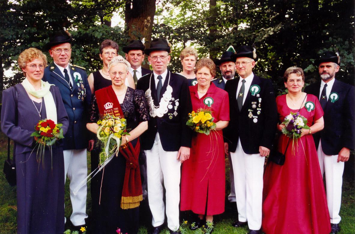 1999: König Ferdinand Lackhove und Königin Thea Lackhove