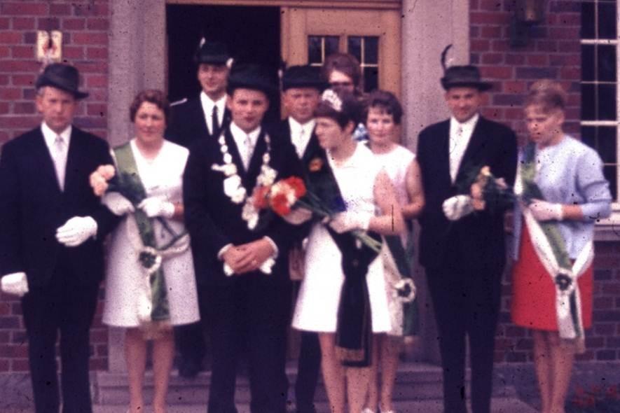 1969: König Theodor Austermann und Königin Gertrud Grundkötter